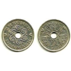 (874.1) Dinamarca. 1999. 2 Kroner (MBC+)
