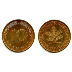 (108) Alemania. 1993(J). 10 Pfennig (MBC+)