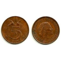 (181) Países Bajos. 1965. 5 Cents (SC)