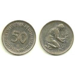(109.2) Alemania. 1980(G). 50 Pfennig (MBC)