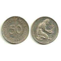 (109.2) Alemania. 1990(G). 50 Pfennig (MBC+)