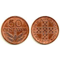 (596) Portugal. 1972. 50 Centavos (MBC)