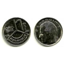 (170) Bélgica. 1989. 1 Franc (MBC+)