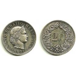 (29) Suiza. 1931. 20 Rappen (EBC)