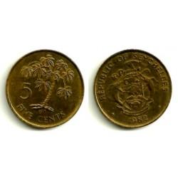 (47.1) Seychelles. 1982. 5 Cents (EBC)