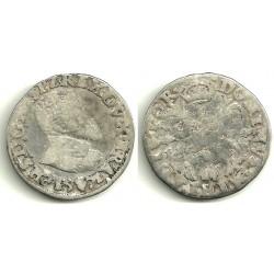 [1571] 1/10 de Escudo (BC) Ceca de Amberes