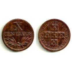(583) Portugal. 1953. 10 Centavos (MBC+)