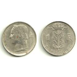 (142.1) Bélgica. 1972. 1 Franc (MBC)