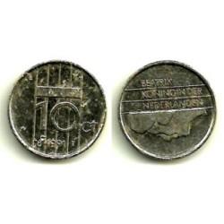(203) Países Bajos. 1991. 10 Cents (RC)