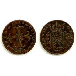 (71) Suiza (Cantón de Neuchâtel). 1818. 1 Kreuzer (EBC)
