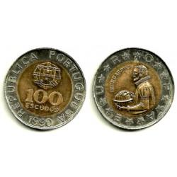 (645.1) Portugal. 1990. 100 Escudos (SC)