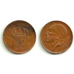 (145) Bélgica. 1953. 50 Centimes (MBC-)