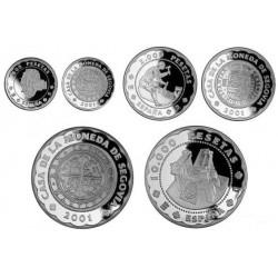 [2001] Colección Completa en Plata (Proof)