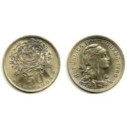 (577) Portugal. 1966. 50 Centavos (SC)