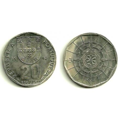 (634.2) Portugal. 1998. 20 Escudos (SC)