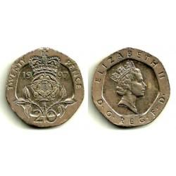 (939) Gran Bretaña. 1997. 20 Pence (MBC)