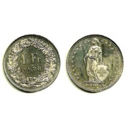 (24a.3) Suiza. 1988. 1 Franc (MBC+)