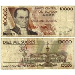 (127a) Ecuador. 1994. 10000 Sucres (BC-)