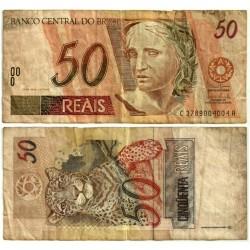 (246l) Brasil. 1994-2010. 50 Reales (BC)