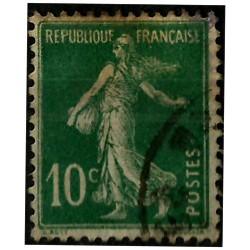 (163) Francia. 1906-37. 10 Centimes. Sembradora (Usado)