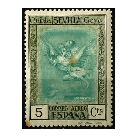 (517) 1930. 5 Céntimos. Quinta de Goya (Nuevo)