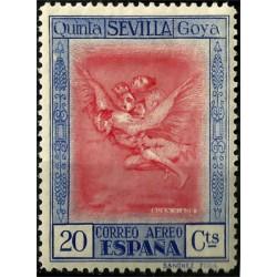 (521) 1930. 20 Céntimos. Quinta de Goya (Nuevo, con marcas de fijasellos)