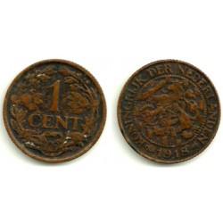 Países Bajos. 1918. 1 Cent (MBC)
