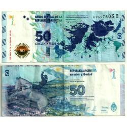 (362) Argentina. 2015. 50 Pesos (BC+)
