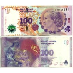 (358b) Argentina. 2012. 100 Pesos (MBC+)