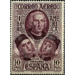 (565) 1930. 10 Pesetas. Descubrimiento de América (Nuevo)