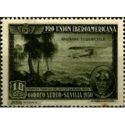 (584) 1930. 10 Céntimos. Pro Unión Iberoamericana (Nuevo)