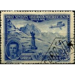 (585) 1930. 25 Céntimos. Pro Unión Iberoamericana (Usado)