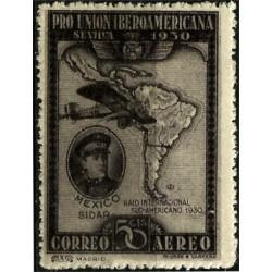 (586) 1930. 50 Céntimos. Pro Unión Iberoamericana (Nuevo)