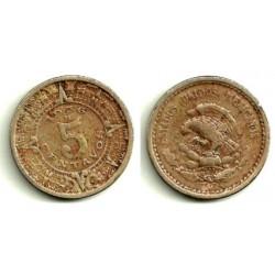 (423) Estados Unidos Mexicanos. 1936. 5 Centavos (MBC-)