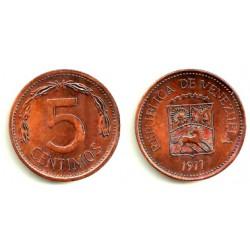 (Y49) Venezuela. 1977. 5 Centimos (EBC)