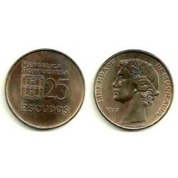 (607) Portugal. 1977. 25 Escudos (SC)