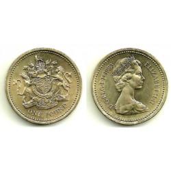 (933) Gran Bretaña. 1983. 1 Pound (SC)