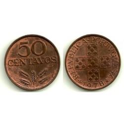 (596) Portugal. 1978. 50 Centavos (EBC+)
