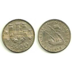 (591) Portugal. 1977. 5 Escudos (MBC)