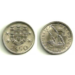 (590) Portugal. 1982. 2½ Escudos (SC)
