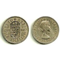 (904) Gran Bretaña. 1954. 1 Shilling (BC+)