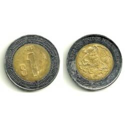 (603) Estados Unidos Mexicanos. 2013. 1 Peso (MBC+)