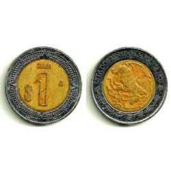 (603) Estados Unidos Mexicanos. 2009. 1 Peso (MBC-)