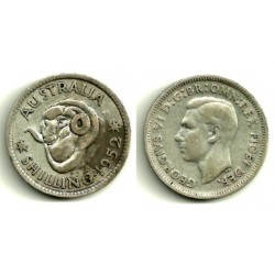 Australia. 1952. 1 Shilling (MBC) (Plata)