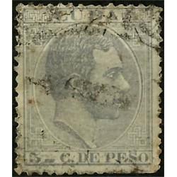 (103) Cuba Colonial. 1883. 5 C. de Peso (Usado)