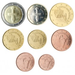 Chipre 2012 Serie Completa (8 Valores) (SC)