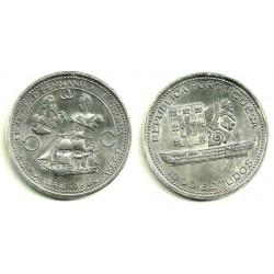 (585) Portugal. 1953. 20 Escudos (MBC) (Plata)