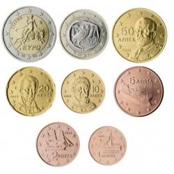 Grecia 2002 Serie Completa (8 Valores) (SC)