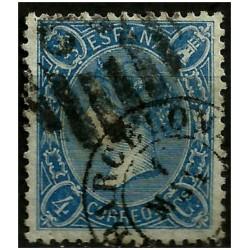 (75) 1865. 4 Cuartos. Isabel II (Usado)