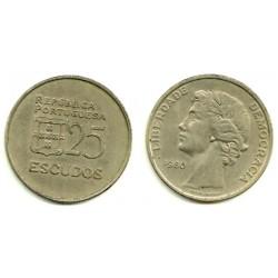 (607a) Portugal. 1980. 25 Escudos (MBC)